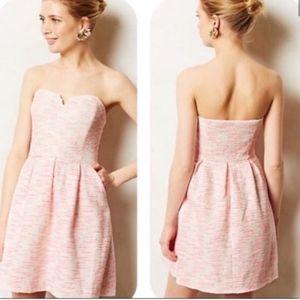 Anthropologie Moulinette Soeurs Pink Tweed Dress 4